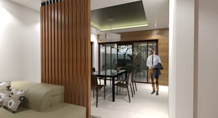 moderne Esszimmer von Architecture Creates Your Environment Design Studio
