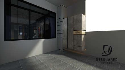 Entrance Shoe Cabinet:  Terrace by Desquared Design