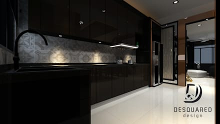 Kitchen: modern Kitchen by Desquared Design