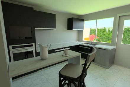 Кухонные блоки в . Автор – eleganty