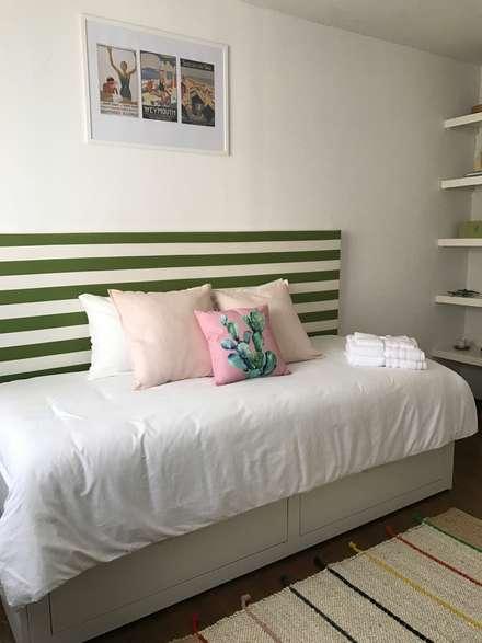 غرفة نوم مراهقين  تنفيذ IAM Interiores