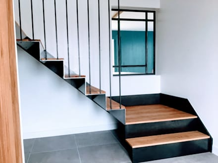 Stairs by Ophélie Dohy architecte d'intérieur