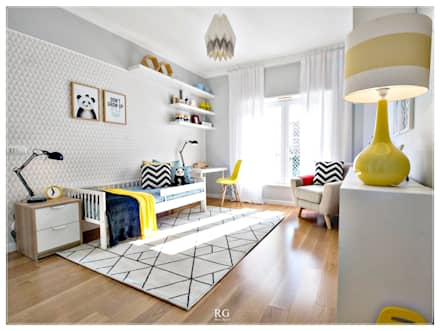 The Happy room: Quartos de rapaz  por RG Home Stylist