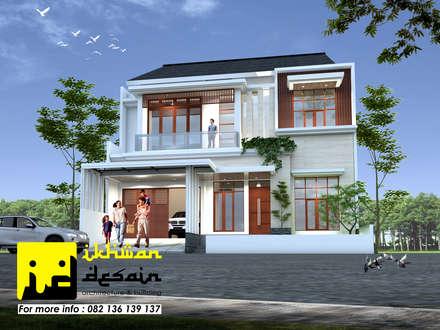 Rumah Modern Classic:  Rumah tinggal  by Ikhwan desain