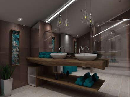 scandinavian Bathroom by Angelourenzzo - Interior Design