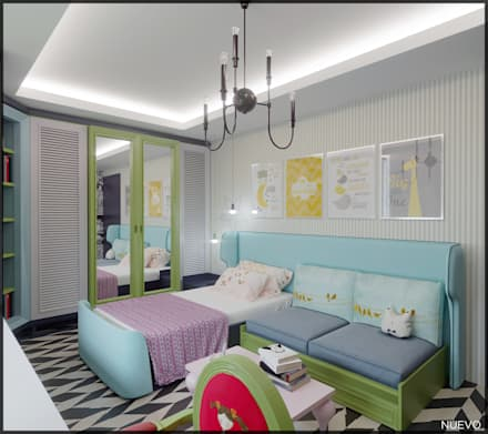 Girls Bedroom by Nuevo Tasarım