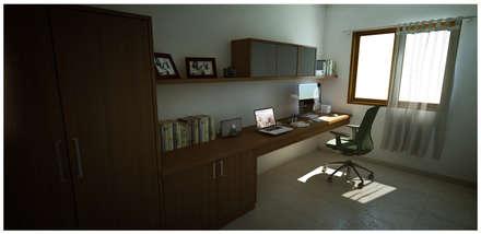Study : modern Study/office by Sandarbh Design Studio