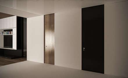LUXURY HOUSE: Ingresso & Corridoio in stile  di StudioArchPellicano