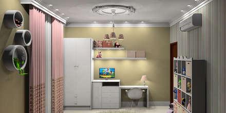 Habitaciones para niñas de estilo  por Caren Stellfeld - Decoração de Interiores