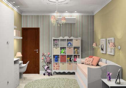 Girls Bedroom by Caren Stellfeld - Decoração de Interiores