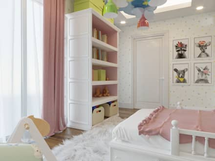 Girls Bedroom by Nuevo Tasarım
