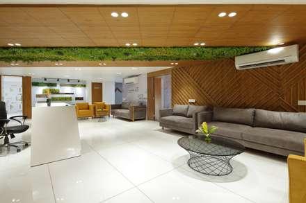 Waiting Lounge:  Office buildings by malvigajjar