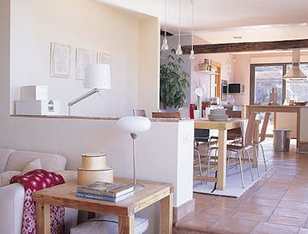 Iluminacion de hogares: Comedores de estilo industrial de Cenflor Iluminacion Lamparas Valencia Leds