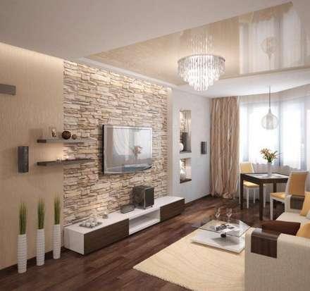 mediterranean Dining room by Cenflor Iluminacion Lamparas Valencia Leds