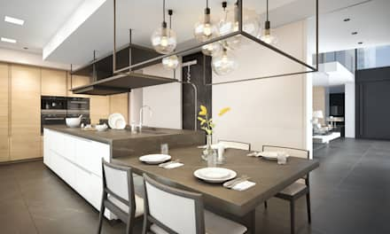 Unifamiliar en Las Rozas: Dormitorios de estilo moderno de Estudio Arinni S.L.