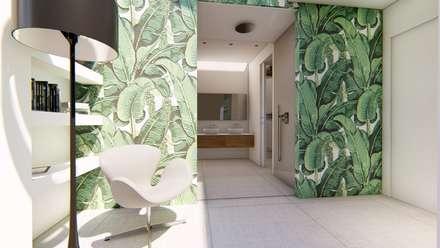 Casa G - Master Bedroom: Camera da letto in stile in stile Eclettico di Studio Frasson