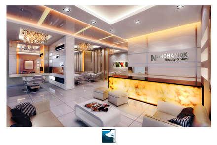 ฺฺInterior Design : Beauty & Slim Spa :  คลินิก by Blufox eco-solution Co., Ltd.