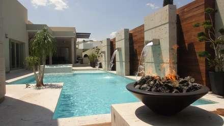 Garden Pool by Dintel arquitectura y construcción