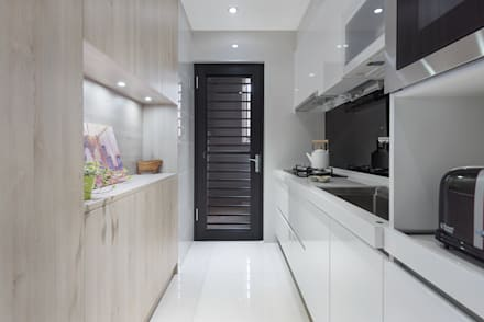 H residence:  系統廚具 by Fu design