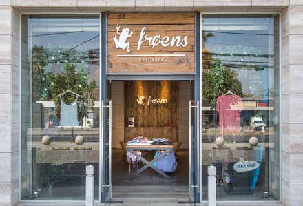 Tienda Froens - Luis Pasteur: Espacios comerciales de estilo  por milimetroMETRO Arquitectura