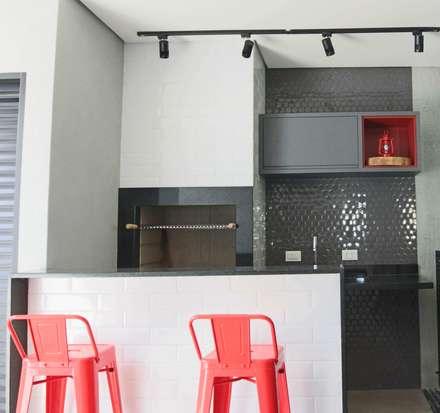قبو النبيذ تنفيذ Kemily Onça - Studio de Arquitetura