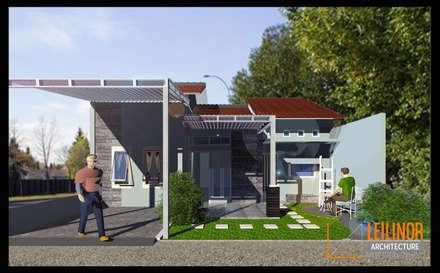Minimalist House:  Rumah by CV Leilinor Architect