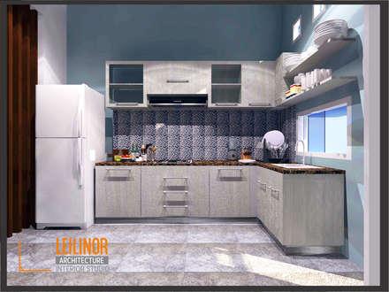 Minimalist House:  Dapur by CV Leilinor Architect