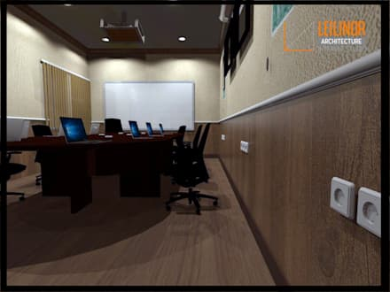 Meeting Room Renovation:  Ruang Kerja by CV Leilinor Architect