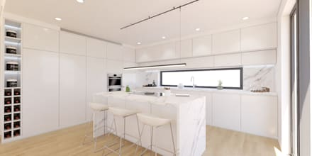 Kitchen units by DR Arquitectos
