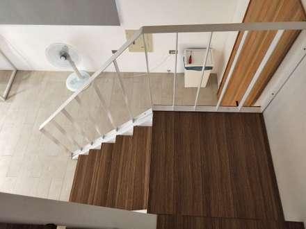 Escaleras de estilo  por 喬克諾空間設計