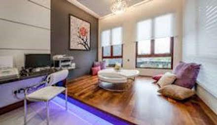 minimalistic Living room by PABLO GARCIA