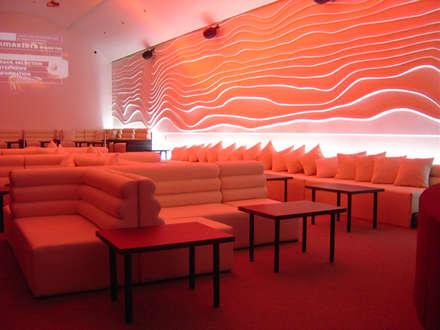DISEÑO DE BARES Y RESTAURANTES B&Ö  Arquitectura, decoración, diseño de interiores y Muebles의  바 & 카페