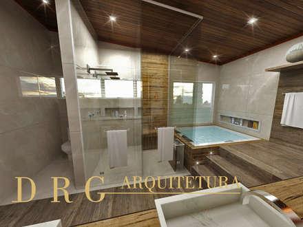 rustic Spa by DRG ARQUITETURA