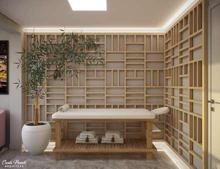 Clínicas de estilo  por Camila Pimenta | Arquitetura + Interiores