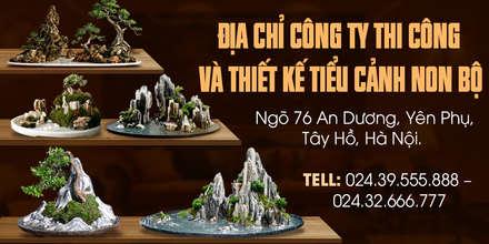 مكتب عمل أو دراسة تنفيذ Công Ty Thi Công Và Thiết Kế Tiểu Cảnh Non Bộ