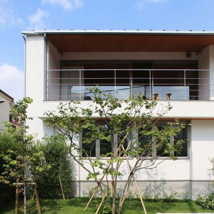 ระเบียง, นอกชาน by 西島正樹/プライム一級建築士事務所