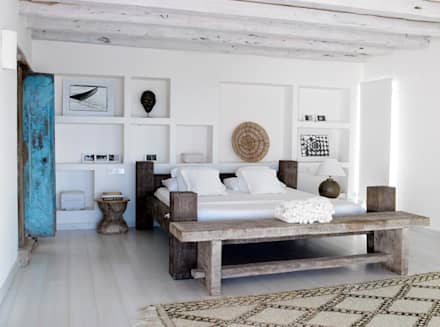 mediterranean Bedroom by ALMA Architettura | Mario Pan | Alessandro Pezzotti