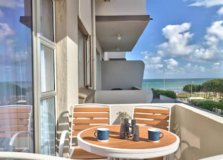 Beach Retreat:  Patios by Studio Do Cabo