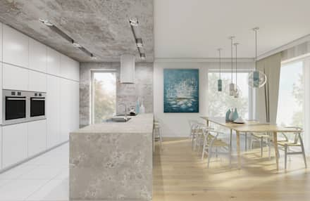 Built-in kitchens by Creoline
