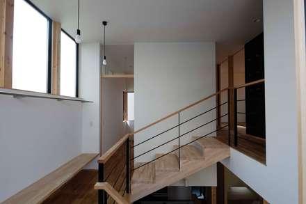 Лестницы в . Автор – 中澤建築設計事務所