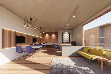 Commercial Spaces by Rodrigo Santos Arquitetura