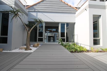 Entrance:  Passive house by Projector & Sound Services (PTY) Ltd