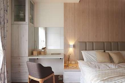 Phòng ngủ by 層層室內裝修設計有限公司