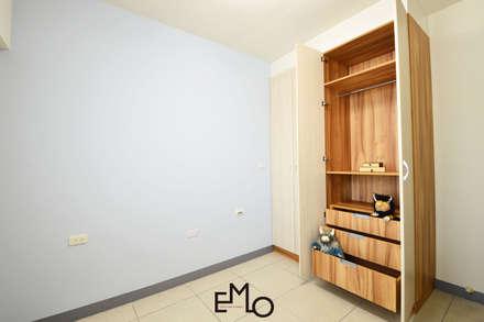 不被侷限的收納:  嬰兒/兒童房 by 以莫室內裝修工程有限公司