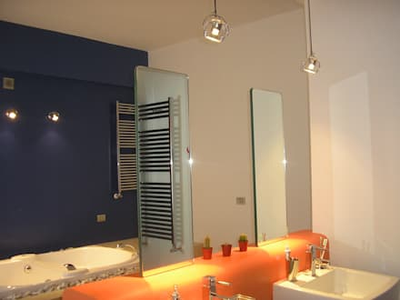 Casa Bas: Bagno in stile in stile Eclettico di A-LAB Arch. Marina Grasso