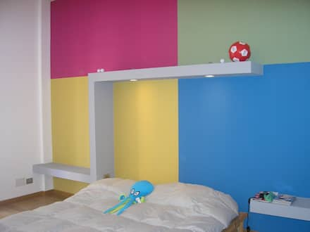 Casa Bas: Camera da letto in stile in stile Eclettico di A-LAB Arch. Marina Grasso