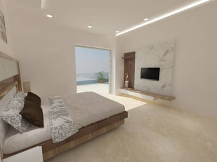 Residential Project: modern Bedroom by YATIKA INTERIORS