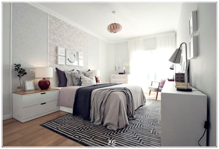eclectic Bedroom by RG Home Stylist
