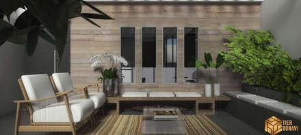 moderne Wohnzimmer von Tierbonavi