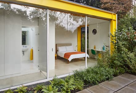 Richard Rogers House 22 Parkside: minimalistic Bathroom by Solidity Ltd